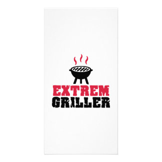 Extrem Griller Photo Card Template