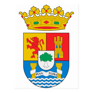 Extremadura (Spain)  Coat of Arms Postcard
