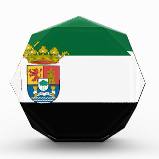 Extremadura (Spain)  Flag Acrylic Award