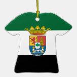 Extremadura (Spain)  Flag Christmas Ornaments