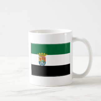 Extremadura (Spain) Flag Coffee Mug