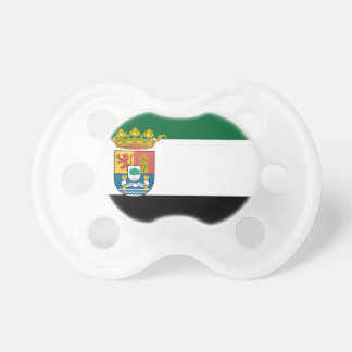 Extremadura (Spain) Flag Baby Pacifiers