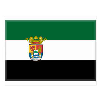 Extremadura (Spain) Flag Postcard