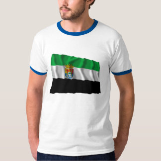 Extremadura waving flag T-Shirt