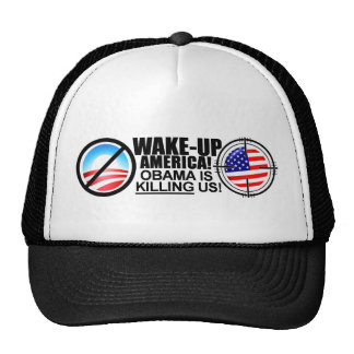 Extreme Anti Obama Jokes Trucker Hat 01