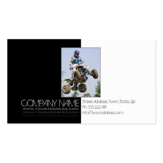 Extreme ATV Dirt Trail Motorsports Business Card