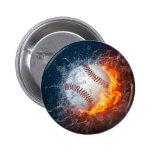 Extreme Baseball 2 Inch Round Button