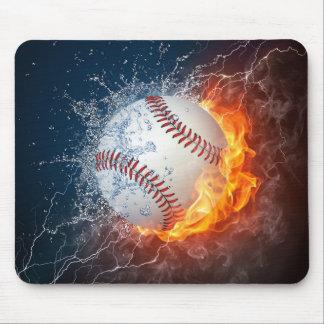 Extreme Baseball Mouse Pad