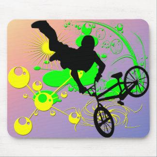 Extreme Biking Mouse Pad