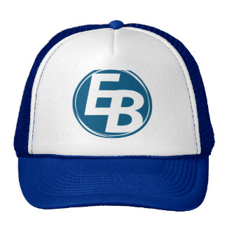Extreme Blue truker hat