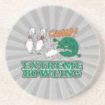 extreme bowling savage ball beverage coaster