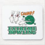 extreme bowling savage ball mouse pad