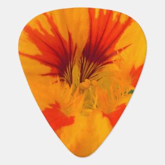 Extreme CloseUp Nasturtium III Guitar Pick