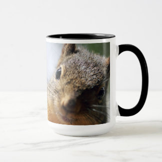 Extreme Closeup Squirrel Picture Mug