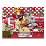 Extreme Cooking Postcard