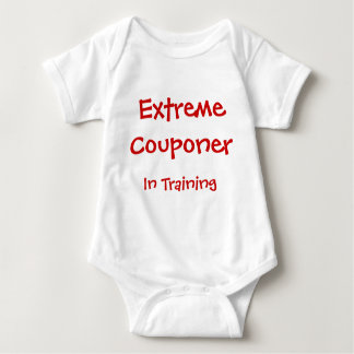 Extreme Couponer In Training Baby Bodysuit