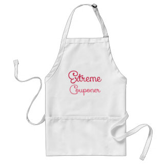 Extreme Couponer.png Adult Apron