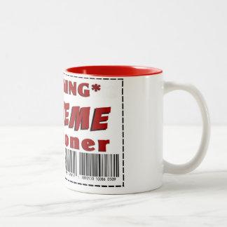 Extreme Couponer Two-Tone Coffee Mug