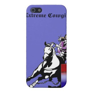 Extreme Cowgirl racer case iPhone 5 Covers