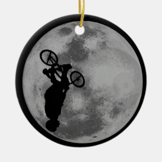 Extreme Cycling Ceramic Ornament