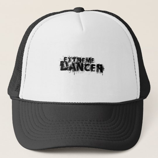 Extreme Dancer Black Trucker Hat