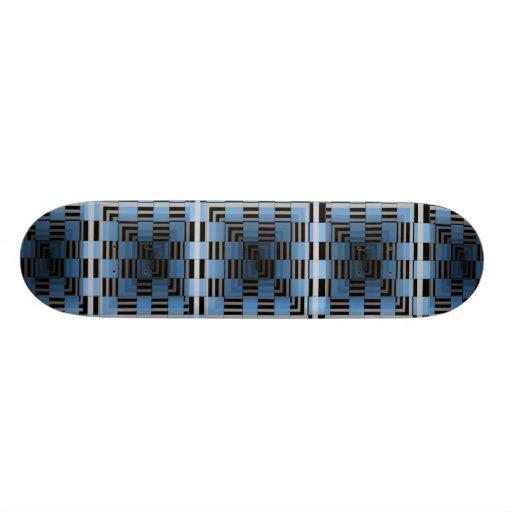 Extreme Design Illusion Blue Wild Deck Skateboard
