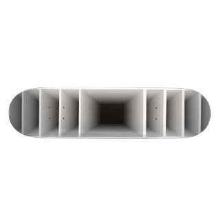 Extreme Design Infinity Silver Optical Skateboard