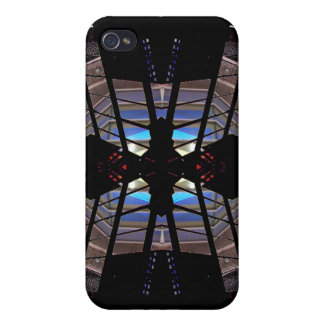 Extreme Designs Colorful Geometric CricketDiane iPhone 4/4S Cover
