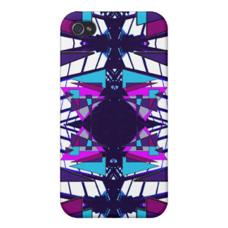 Extreme Designs Colorful Geometric CricketDiane iPhone 4 Case