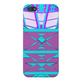 Extreme Designs Colorful Geometric CricketDiane iPhone SE/5/5s Case