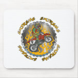 Extreme Dirtbike Mouse Pad