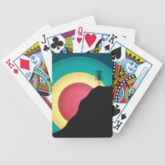 Extreme Disc Golf Bicycle Playing Cards