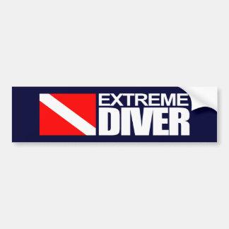 Extreme Diver 4 Bumper Sticker