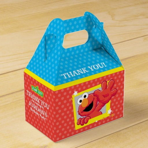 Extreme Elmo Birthday Favor Box
