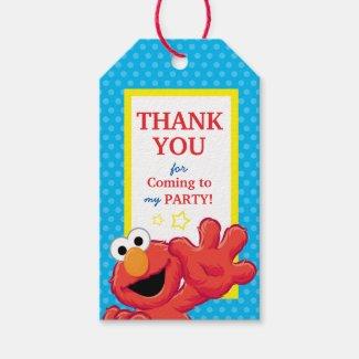Extreme Elmo Birthday Gift Tags
