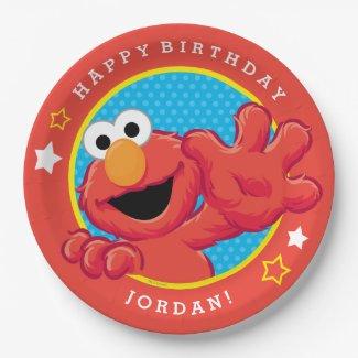Extreme Elmo Birthday Paper Plate