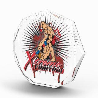 Extreme Fighting Acrylic Award