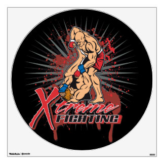 Extreme Fighting Wall Sticker