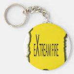 Extreme Fire Keychain
