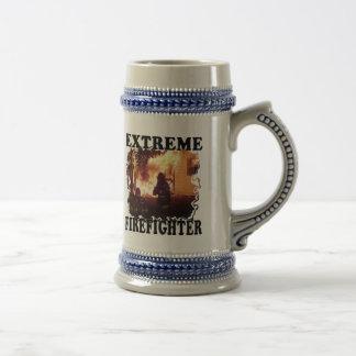 Extreme Firefighter Beer Stein