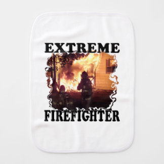 Extreme Firefighter Burp Cloth