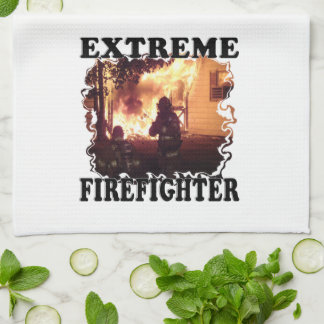 Extreme Firefighter Hand Towel