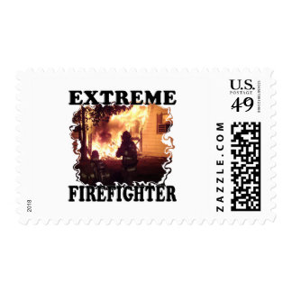 Extreme Firefighter Stamp