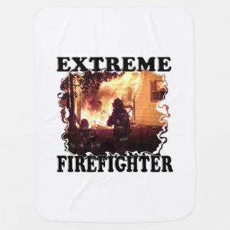 Extreme Firefighter Swaddle Blanket