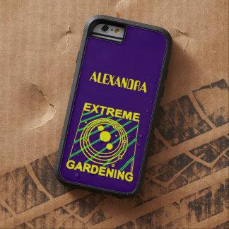 Extreme Gardening Crop Circle Humor UFO Art iPhone 6 Case