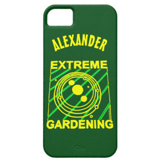 Extreme Gardening Crop Circle Humor UFO Art iPhone 5 Covers
