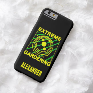 Extreme Gardening Crop Circle Humor UFO Art Barely There iPhone 6 Case