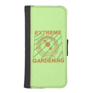 Extreme Gardening Dark Geek Fun Phone Wallet