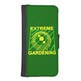Extreme Gardening Light Geek Fun Phone Wallet