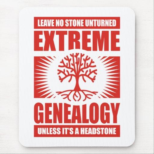 Extreme Genealogy - No Stone Unturned Mouse Pad